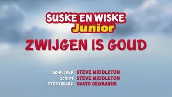 Suske En Wiske Junior - Zwijgen Is Goud