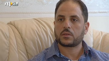 RTL Nieuws Opstandeling volgt val Khadaffi vanuit Den Haag