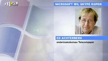 RTL Z Nieuws 10:00 Hoe gaat Microsoft geld verdienen met Skype?