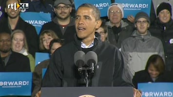 RTL Nieuws Obama sluit campagne af in swingstate Ohio