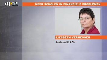 RTL Nieuws Meer scholen in financiële problemen
