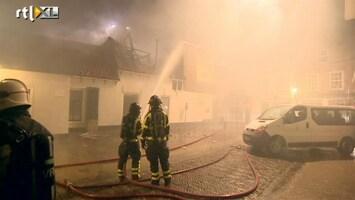 RTL Nieuws Grote brand in centrum Brielle