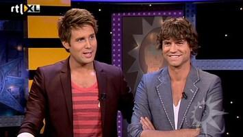 RTL Boulevard Nick en Simon aan de desk!