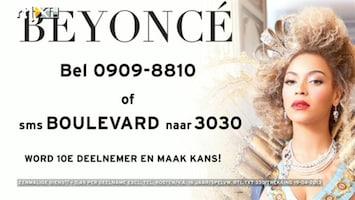RTL Boulevard Beyoncé concertkaarten winnen