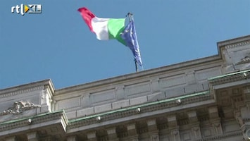 RTL Nieuws Crisisoverleg in Italië over bezuinigingen