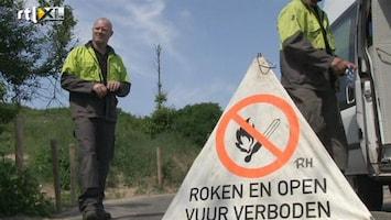 RTL Nieuws Wijk aan Zee zonder gas