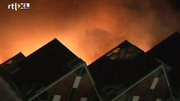 RTL Nieuws Kubuswoning en theater verwoest door brand