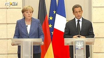 RTL Nieuws Merkel en Sarkozy willen euroregering