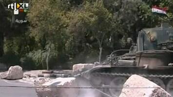 RTL Nieuws Syrische leger blijft schieten op betogers