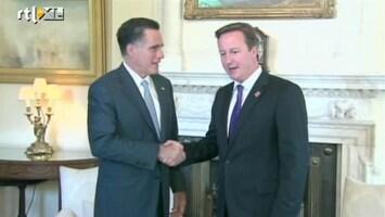RTL Nieuws Romney gebruikt Spelen voor imago