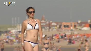 RTL Nieuws Nederland geniet van stralend nazomerweer