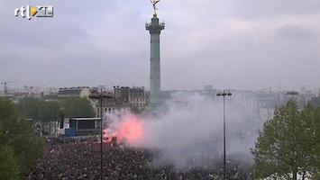RTL Nieuws Volksfeest na winst Hollande