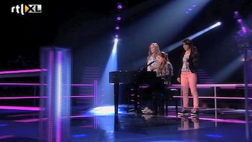 The Voice Kids Celine VS Karijn VS Anne - Right Here Waiting For You