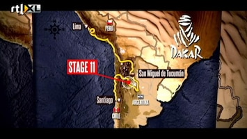 Rtl Gp: Dakar 2012 - Dakar Update 16 Januari
