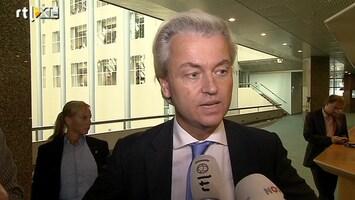 RTL Nieuws Wilders boos over 'D66-flirt'