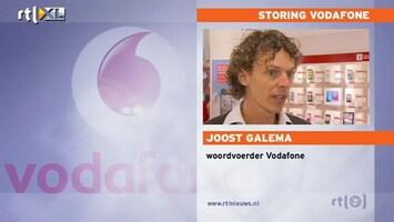 RTL Nieuws Vodafone-netwerk komt langzaam op gang