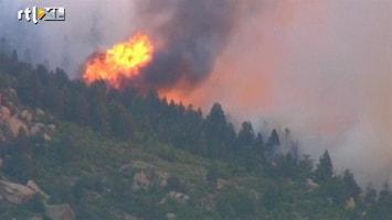 RTL Nieuws Acht bosbranden tegelijk teisteren Colorado Springs