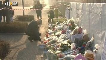 RTL Nieuws Familie naar rampplek busongeluk Zwitserland