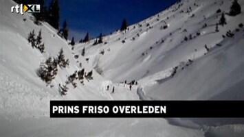 RTL Nieuws Het ski-ongeluk van prins Friso, een reconstructie