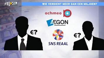 RTL Nieuws Kamer eist openbaarheid lijst grootverdieners banksector