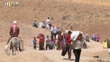 RTL Nieuws Twee miljoen Syriërs gevlucht om geweld