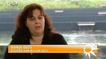 RTL Boulevard Dunja Duys over overlijden Willem Duys