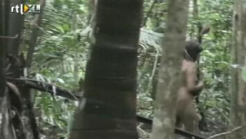 RTL Nieuws Unieke beelden geïsoleerde indianenstam