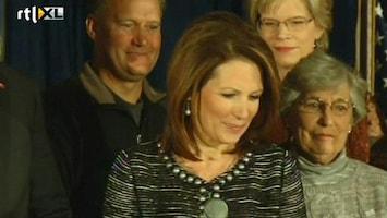 RTL Nieuws Michelle Bachmann geen presidentskandidate meer