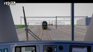 RTL Nieuws Reconstructie treinramp Amsterdam door Onderzoeksraad