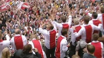 RTL Nieuws Zondag geen huldiging Ajax