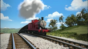 Thomas De Stoomlocomotief Phillip, redder in nood