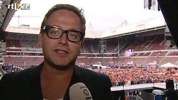 RTL Nieuws Guus Meeuwis bij concert: 'Verlies hier nooit meegemaakt'