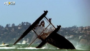 RTL Nieuws Catamaran kapseist in San Fransisco