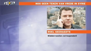 RTL Nieuws 'Mislukking staakt-het-vuren dreigt in Syrië'