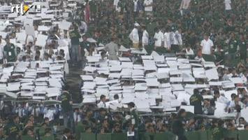 RTL Nieuws Pakistan pakt het wereldrecord bordje omhoog houden
