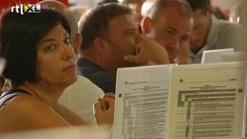 RTL Nieuws Duizenden passagiers gestrand op luchthavens Italië
