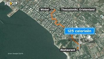 RTL Nieuws Bordjes bij wandelroutes tonen aantal calorieën