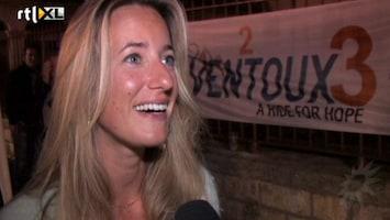 RTL Boulevard TVOH Kim de Boer fietst voor zieke zus