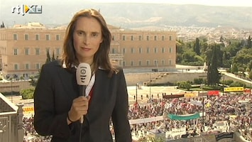 RTL Nieuws Griekse protesten leggen land lam
