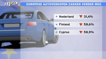 RTL Nieuws Automarkt terug op niveau 1993