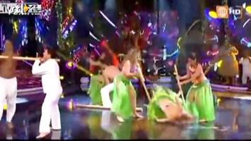 Editie NL Danseres valt op gezicht