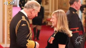 RTL Boulevard Sarah Burton krijgt Orde van Prins Charles