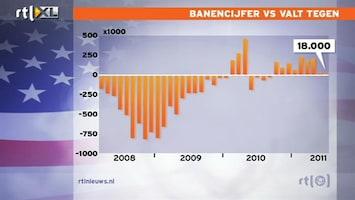 RTL Nieuws Amerikaans banencijfer valt enorm tegen
