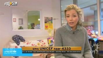 RTL Boulevard Renate Verbaan voor UNICEF