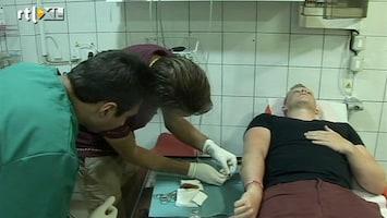 Zon, Zuipen, Ziekenhuis - Co-assistent Alex Hecht Zijn Eerste Arm
