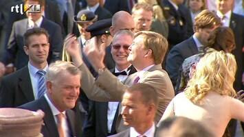 RTL Nieuws Bezoek Oranjes vooral gemoedelijk en gezellig
