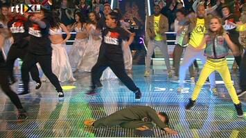Everybody Dance Now Openingsdans laatste halve finale