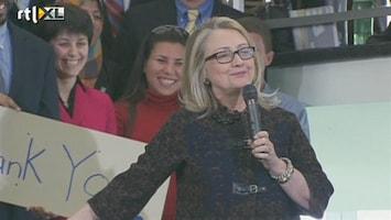 RTL Nieuws Hillary Clinton neemt afscheid als minister