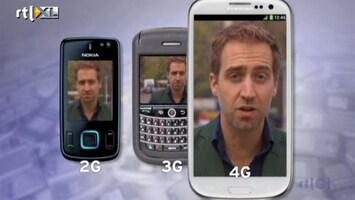 RTL Nieuws Wat wordt eigenlijk bedoeld met 4G?