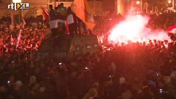 RTL Nieuws Demonstranten belagen Morsi